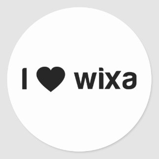 I Love Wixa Sticker
