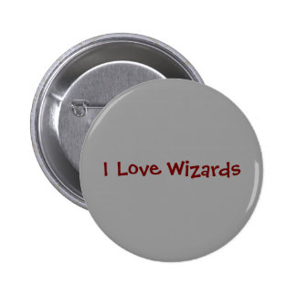 I Love Wizards Button