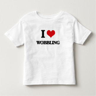 I love Wobbling Tee Shirt