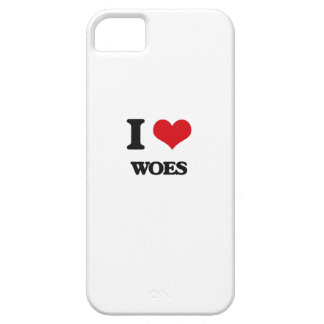 I love Woes iPhone 5 Covers