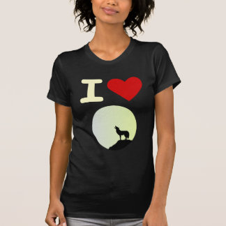 I love wolf T-Shirt