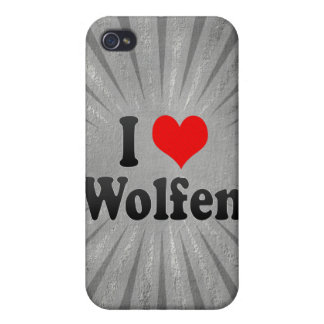 I Love Wolfen, Germany. Ich Liebe Wolfen, Germany Case For iPhone 4