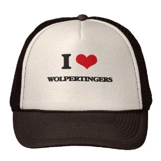 I love Wolpertingers Trucker Hat