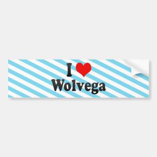 I Love Wolvega, Netherlands Bumper Stickers
