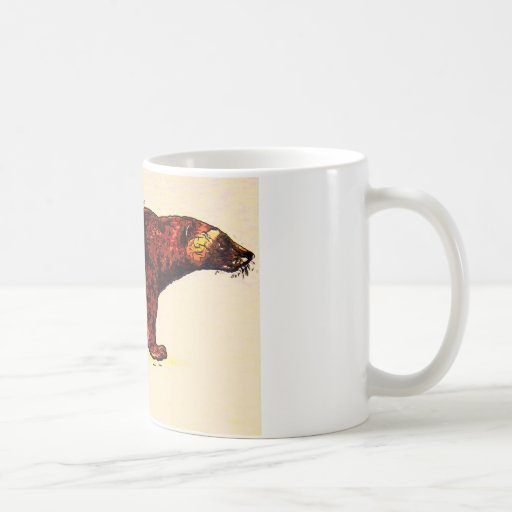I Love Wolverine Coffee Mugs