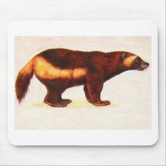 I Love Wolverine Mouse Pad