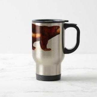 I Love Wolverine 15 Oz Stainless Steel Travel Mug