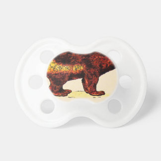 I Love Wolverine Baby Pacifiers