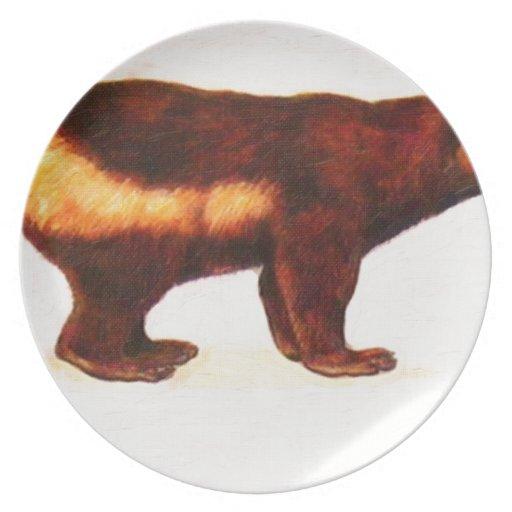I Love Wolverine Plates