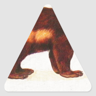 I Love Wolverine Triangle Sticker