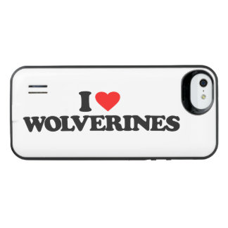 I LOVE WOLVERINES UNCOMMON POWER GALLERY™ iPhone 5 BATTERY CASE