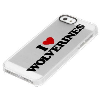 I LOVE WOLVERINES UNCOMMON PERMAFROST® DEFLECTOR iPhone 5 CASE