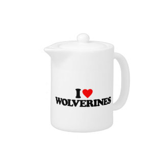 I LOVE WOLVERINES