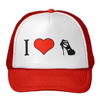 I Love Women Shoes Trucker Hat