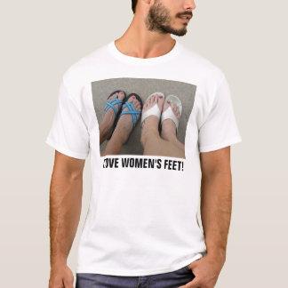I LOVE WOMEN'S FEET T-Shirt