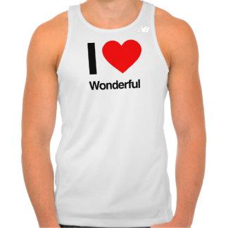 i love wonderful t-shirt