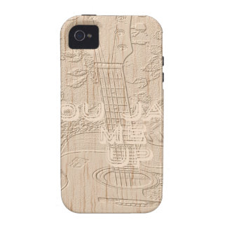 I love wood going brown Hakuna Matata Vibe iPhone 4 Covers