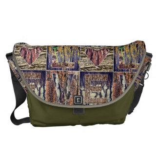 I Love Wood Messenger Bag