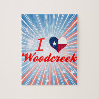 I Love Woodcreek, Texas Jigsaw Puzzles