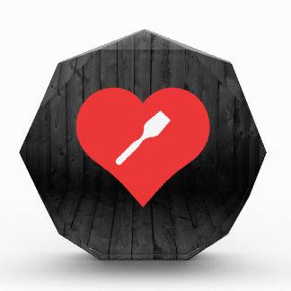 I Love Wooden Spatulas Acrylic Award