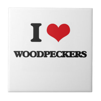 I love Woodpeckers Ceramic Tiles