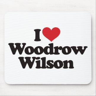 I Love Woodrow Wilson Mouse Pad