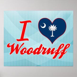 I Love Woodruff, South Carolina Poster