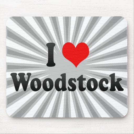 I Love Woodstock, Canada Mouse Pad