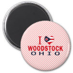I love Woodstock, Ohio Fridge Magnet