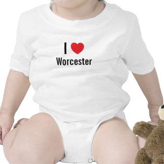 I love Worcester Baby Jumper Romper