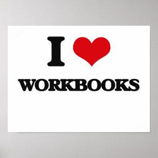 I love Workbooks Poster