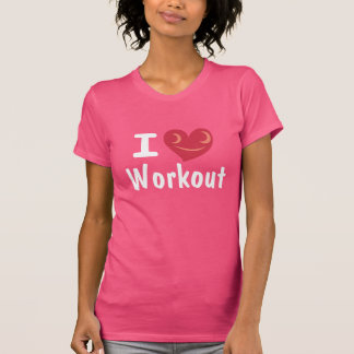 I Love Workout Shirt