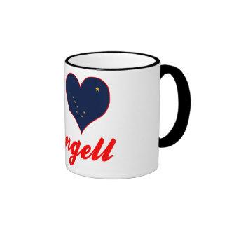 I Love Wrangell, Alaska Mug
