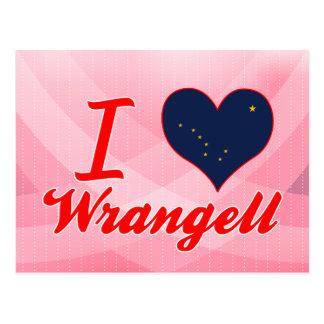 I Love Wrangell, Alaska Postcards