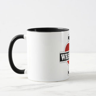 I Love Wrestling Mug