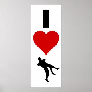 I Love Wrestling (Vertical) Poster