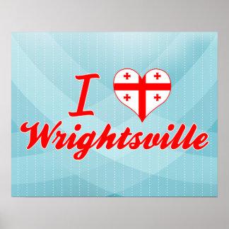 I Love Wrightsville, Georgia Poster