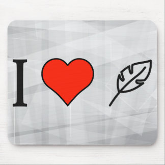 I Love Writing Articles Mouse Pad