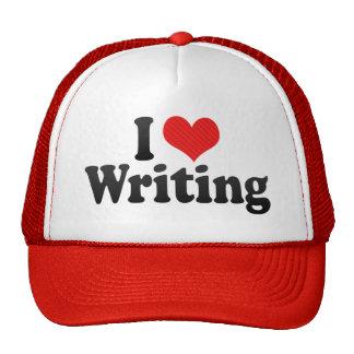 I Love Writing Trucker Hats