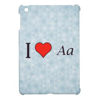 I Love Writing iPad Mini Covers
