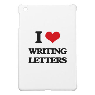 I love Writing Letters Cover For The iPad Mini