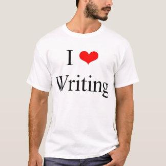 I Love Writing T-Shirt