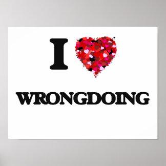 I love Wrongdoing Poster