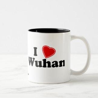I Love Wuhan Two-Tone Coffee Mug