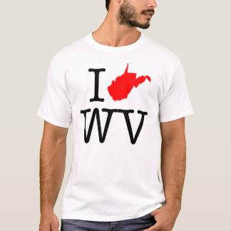 I Love WV West Virginia T-Shirt