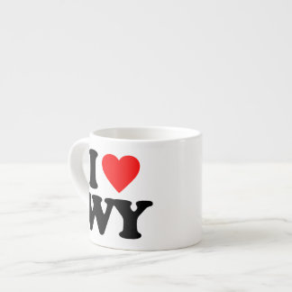 I LOVE WY ESPRESSO CUP