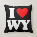 I LOVE WY PILLOWS