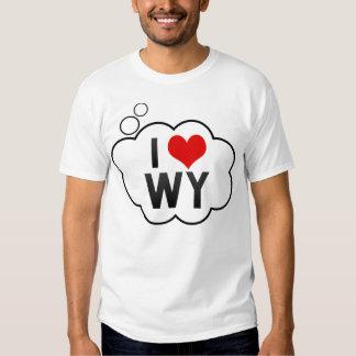 I Love WY T Shirt