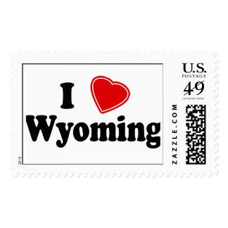 I Love Wyoming Postage