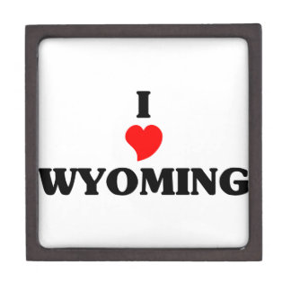 I love Wyoming Premium Jewelry Boxes